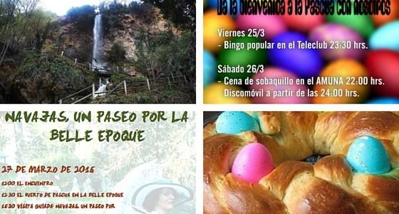 Fiestas de pascua en Navajas