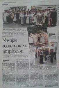 91 Aniversrio Ampliación Termino de Navajas recorte Levante14-8-16