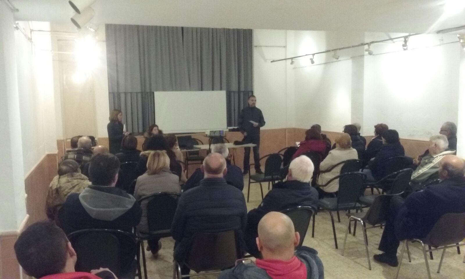 Asamblea al Pueblo de Alternativa por Navajas 16 de Diciembre 2017