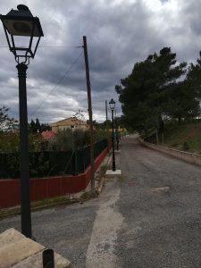 Farolas Urbanización Altomira Navajas