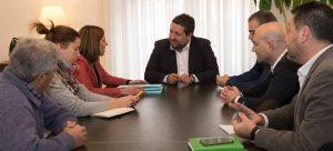 Reunión presidente diputación de Castellon