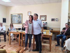 Patricia Plantado renueva su compromiso con Navajas