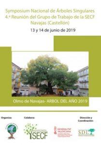 Cartel Symposium Nacional de Arboles Singulares